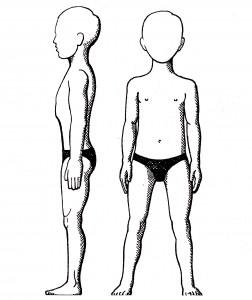 6b) správné držení těla