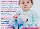 Článek o  kojeneckých masážích v časopise Miminko