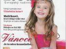 """Článek """"Maličkosti, které dělají velké věci"""" v časopise Rodiče"""