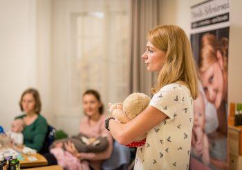 Workshop Péče o miminko – vaničkování WELEDA